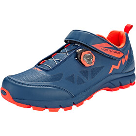 Northwave Corsair Shoes Men blue/lobster orange